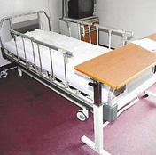 青山氏が3カ月間入院し、臨時の経営本部になった病室